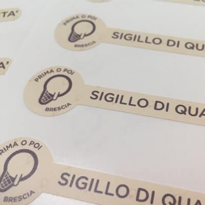 Stickers adesivi sagomati