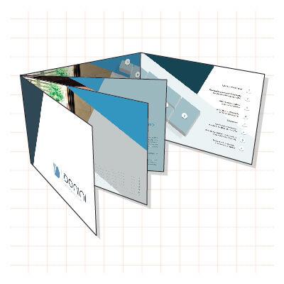 Brochure e pieghevoli per Officine Donini