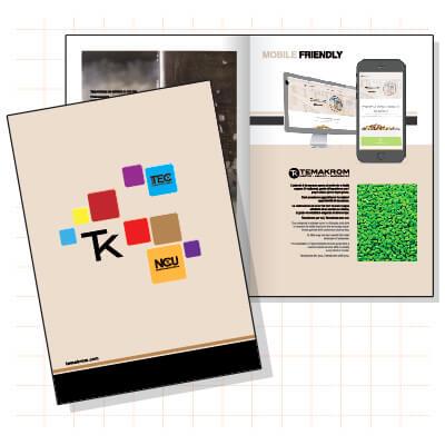 Brochure per Temakrom