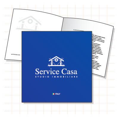 Brochure per Service Casa