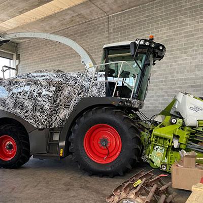 Decorazione/wrapping trincia e macchine agricole